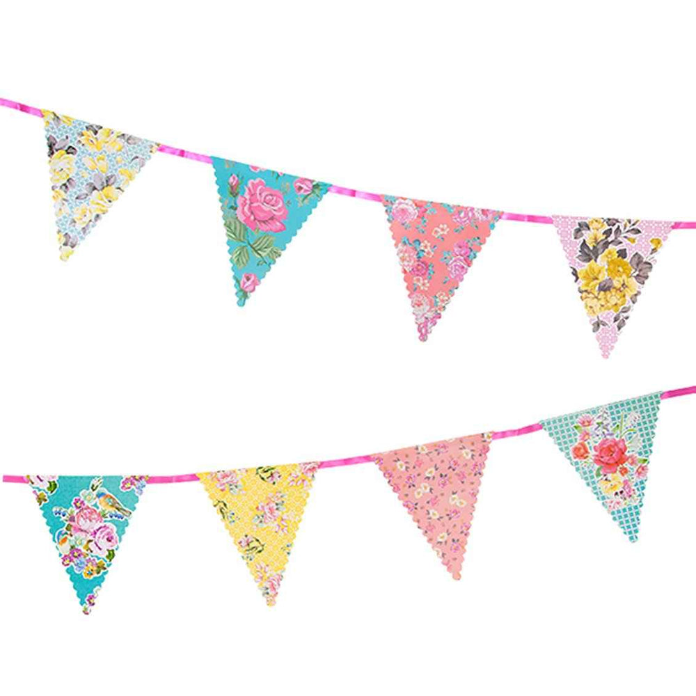 Truly Scrumptious Vintage Floral Bunting - 3m