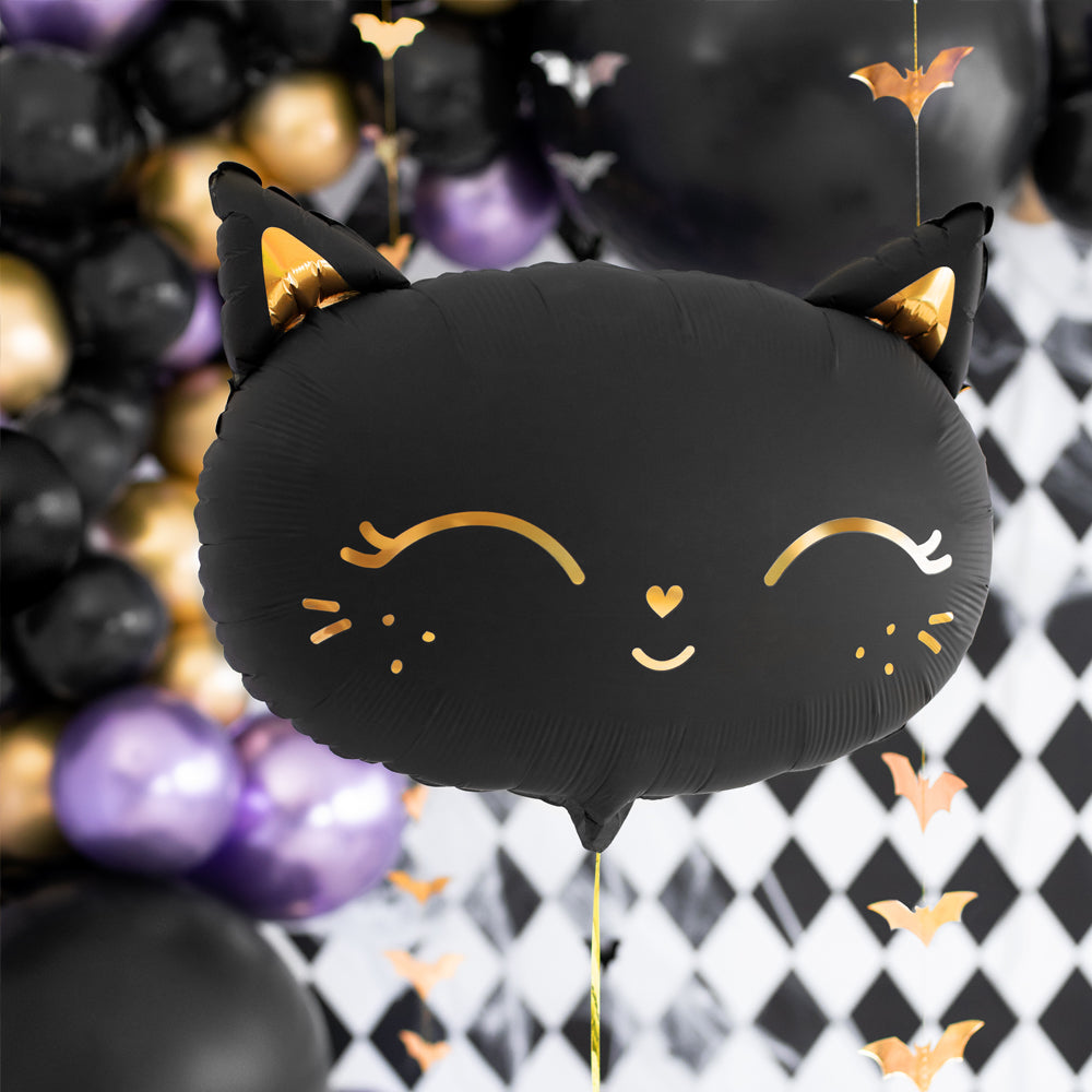 Black Cat Foil Balloon – 18""