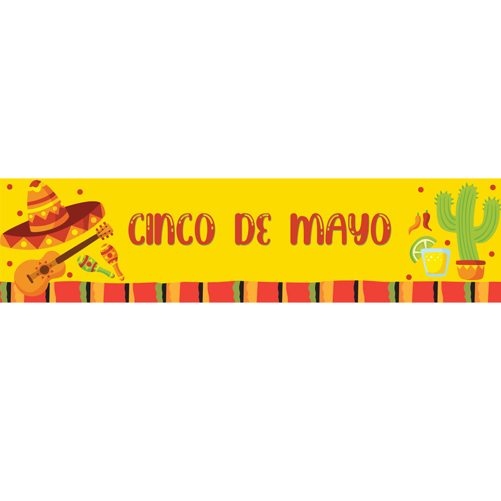 Cinco de Mayo Banner Decoration - 1.2m