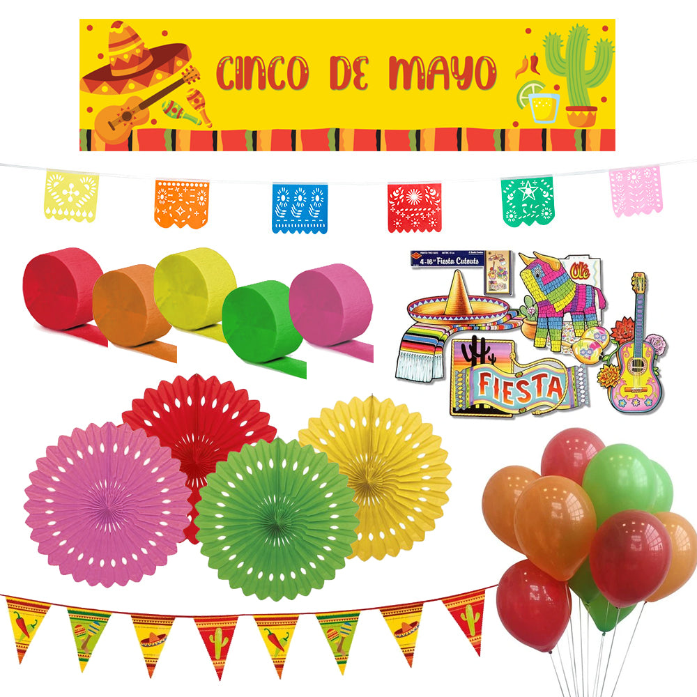 Cinco de Mayo Mexican Decoration Party Pack