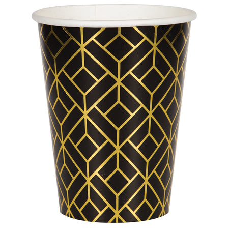 Roaring 20's Paper Cups - 355ml - Pack of 8