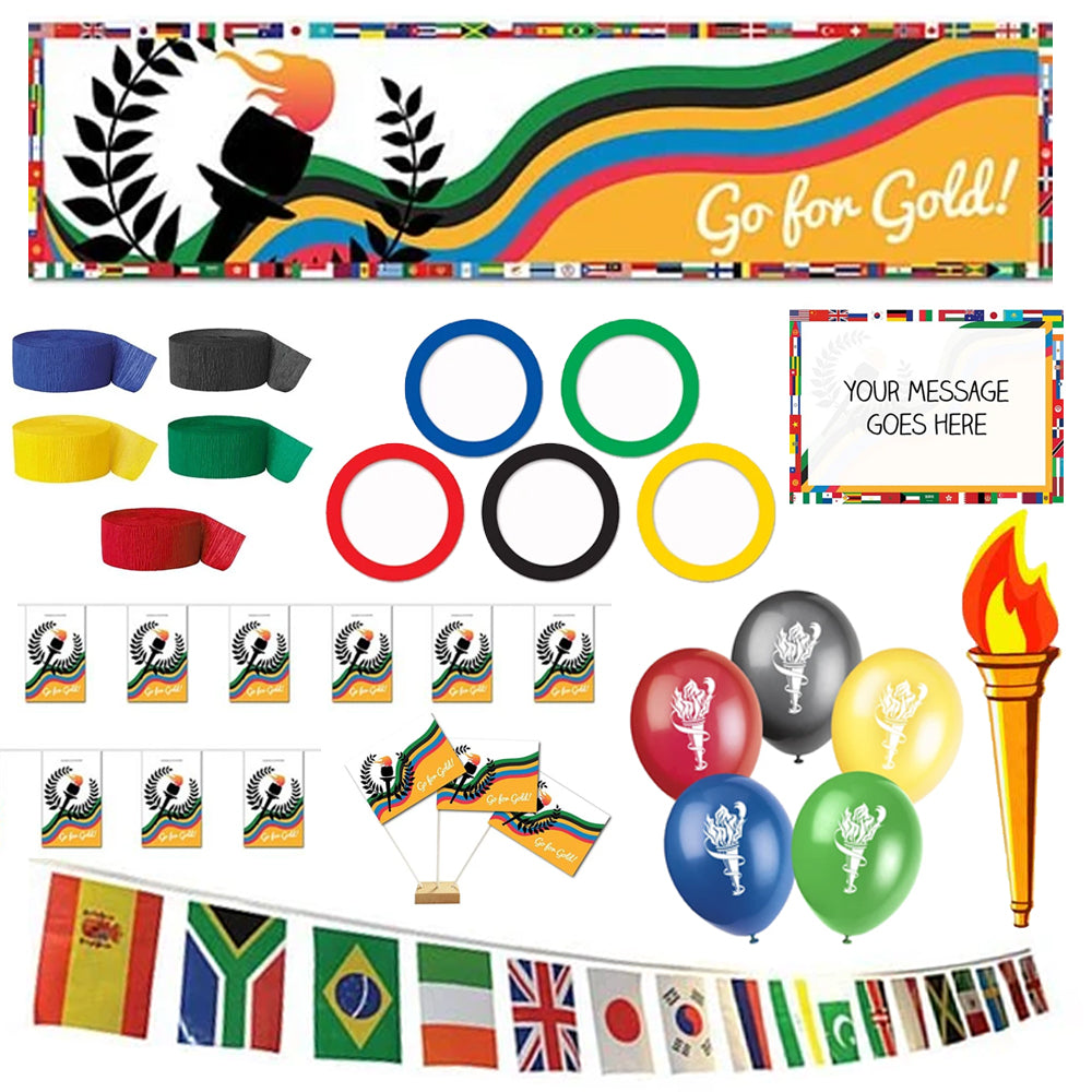 World Games Athletics Decoration Party Pack