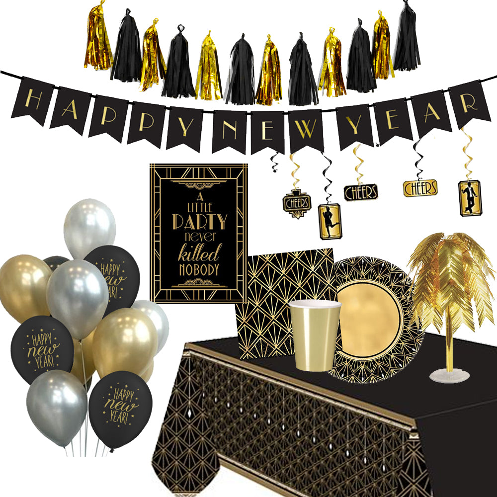 Deluxe 1920s Gatsby New Year Party Pack