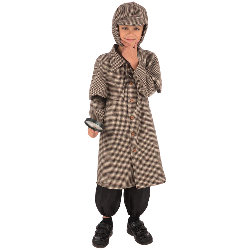 Children's Detective Boy Costume