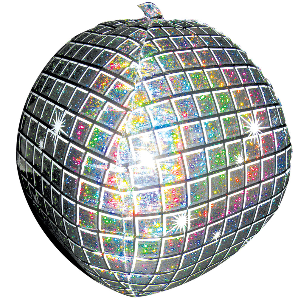 "Disco Ball Foil Balloon - 15"" x 15"""