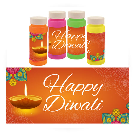Personalised Bubbles - Diwali - Pack of 6