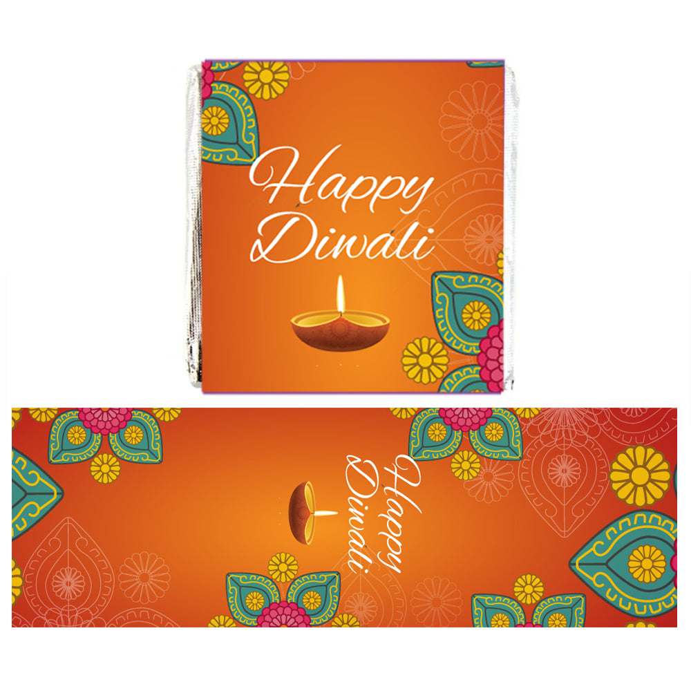 Personalised Chocolates - Diwali - Pack of 16