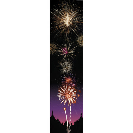 Bonfire Night Fireworks Portrait Wall & Door Banner Decoration - 1.2m