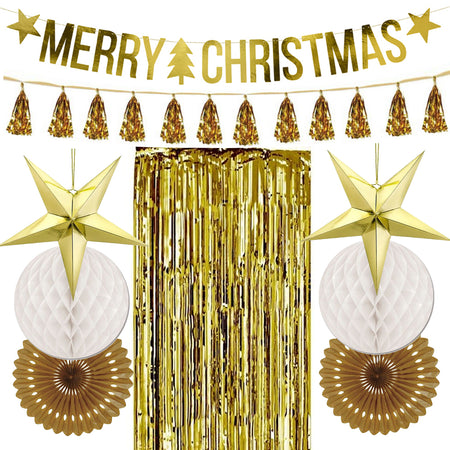 Gold Christmas Decoration Pack
