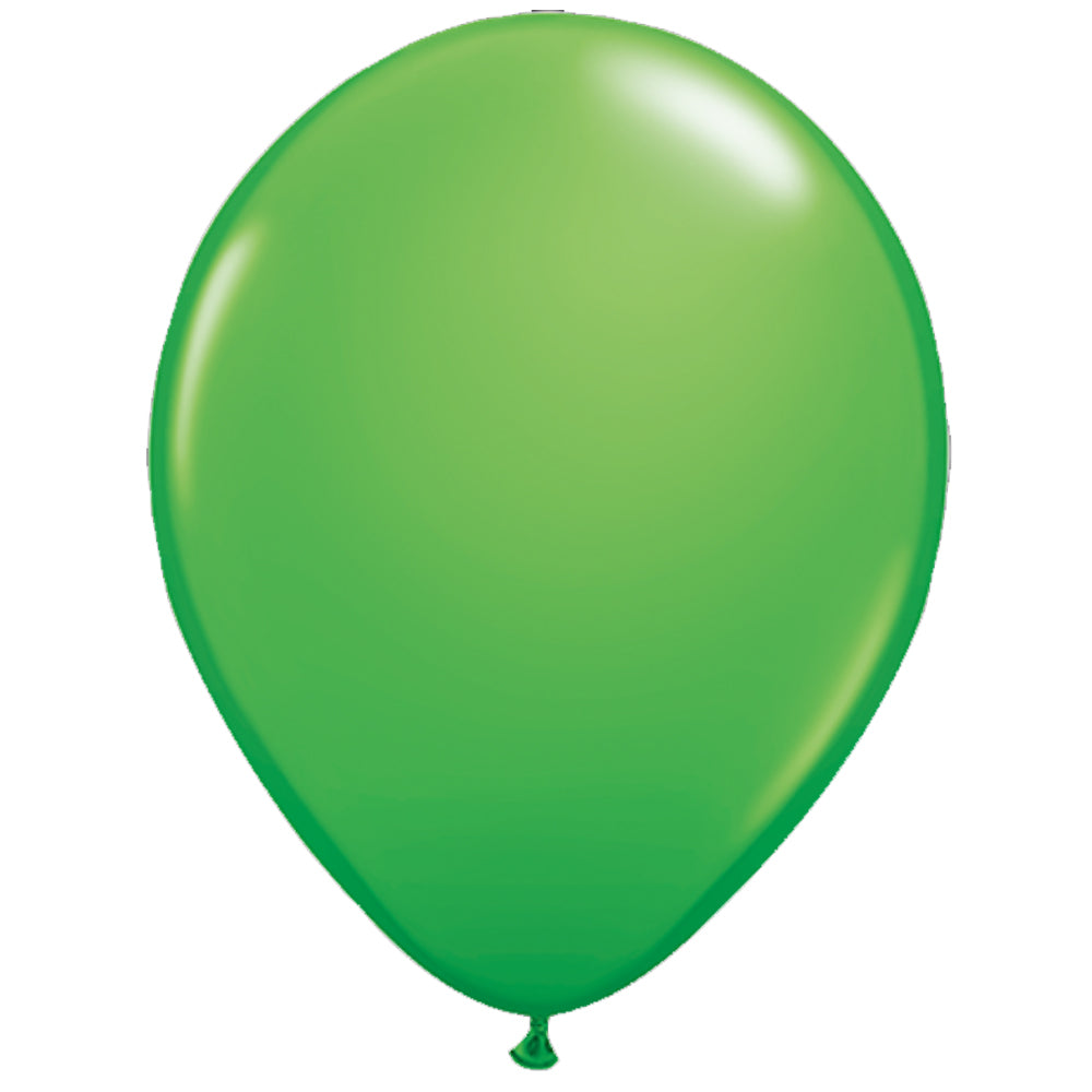 "Emerald Green Latex Balloons - 10"" - Pack of 100"