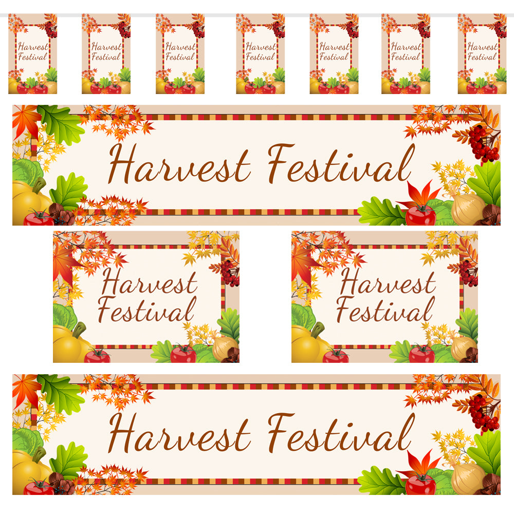 Harvest Festival Decoration Pack