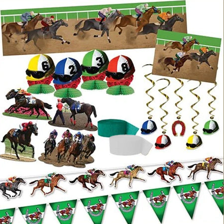 Horse Racing Decoration Pack