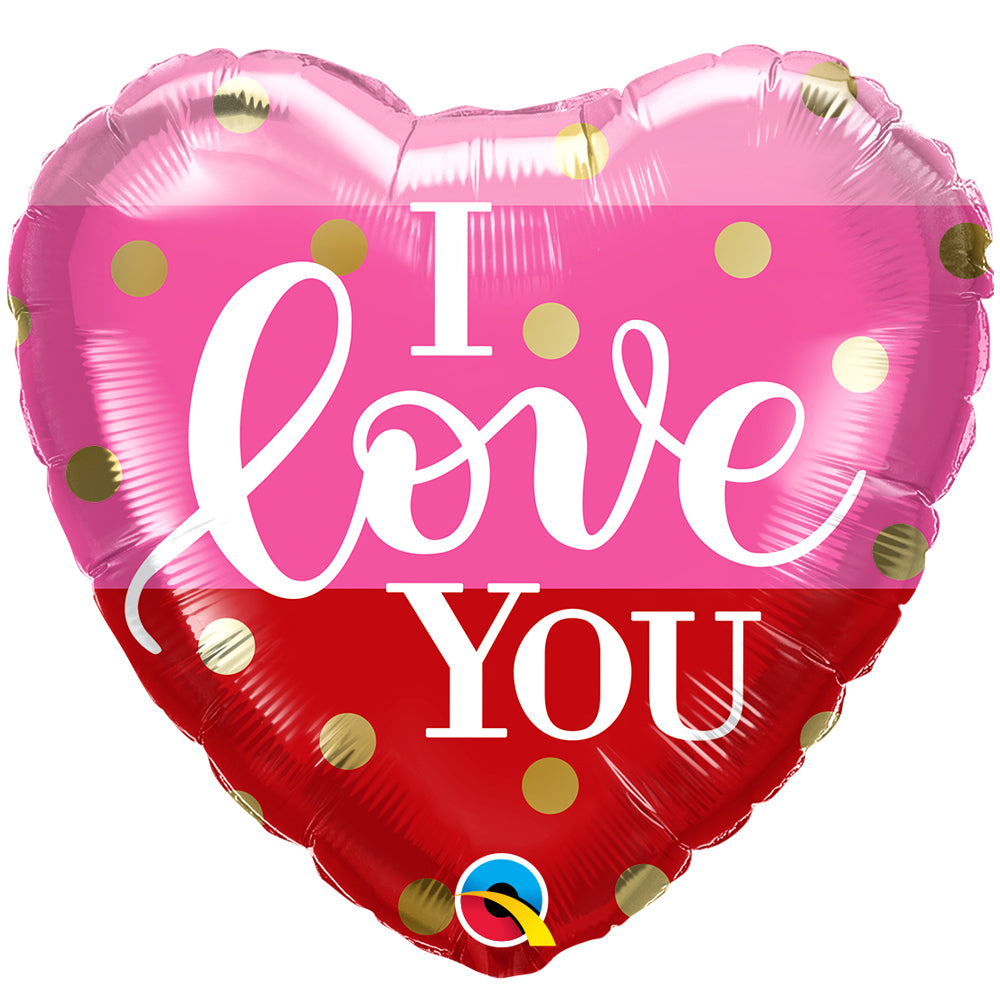 I Love You Foil Balloon - 18""