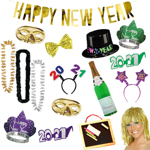 New Year's Eve Photo Booth Pack