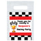 Personalised Motor Racing Card Insert With Sealed Party Bag - Each