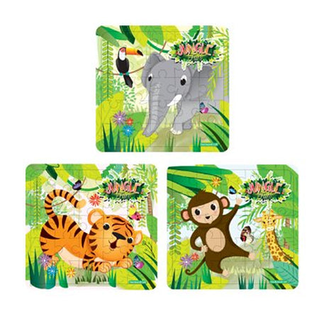 Jungle Jigsaw Puzzle Assorted Designs - Each