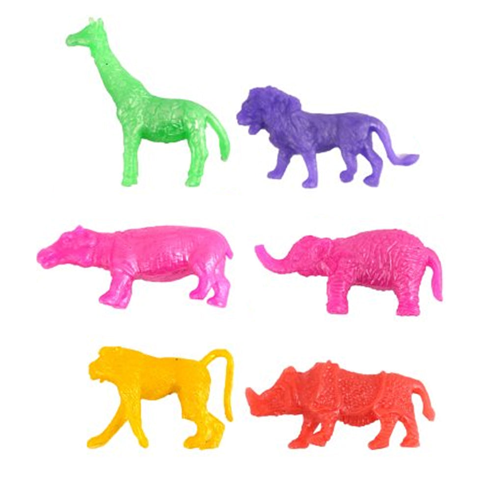 Stretchy Jungle Animal Toys - Assorted - Each