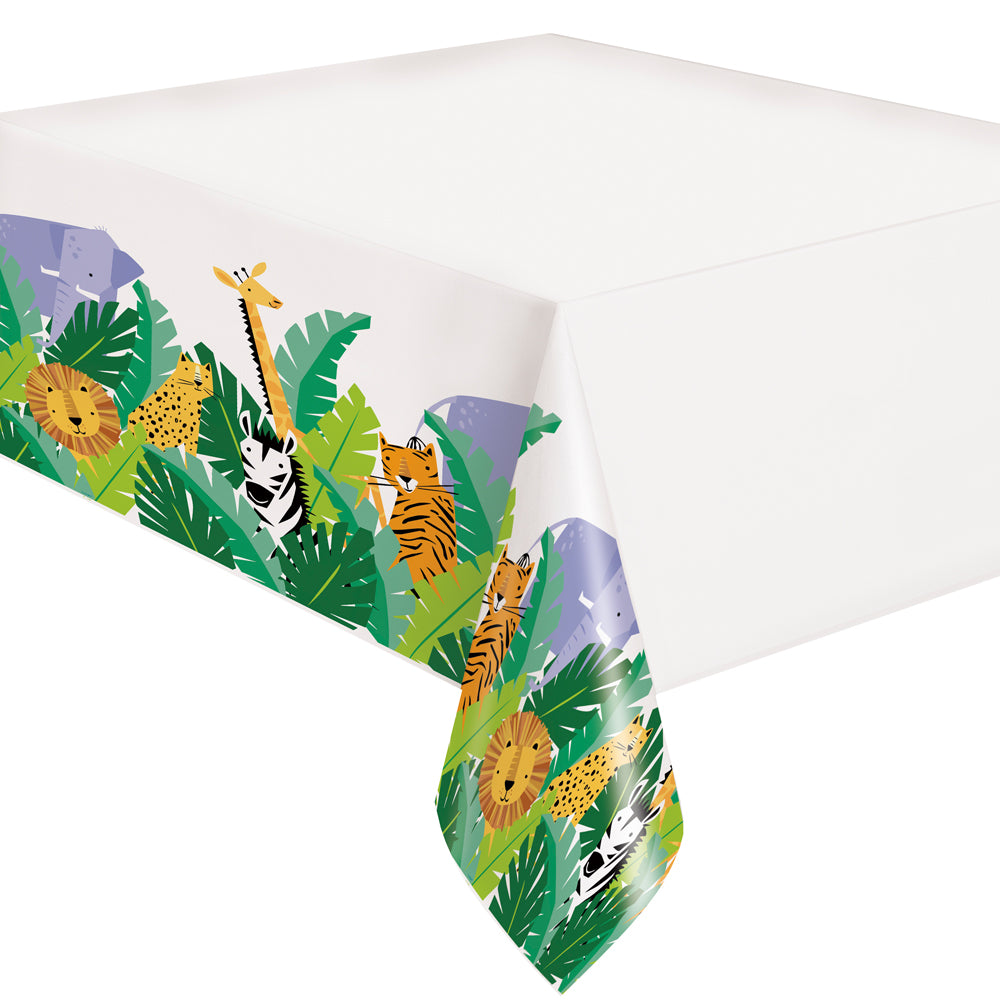 Animal Safari Table Cover - 213cm x 137cm