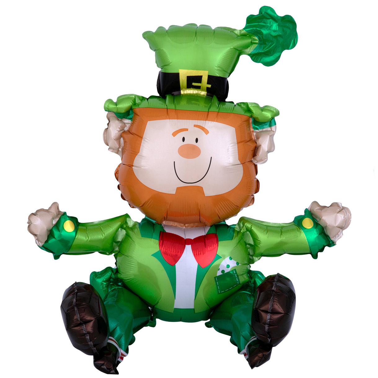 Sitting Leprechaun Foil Balloon - 45cm