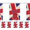 Remembrance Sunday 'Lest We Forget' Flag Interior Bunting - 2.4m