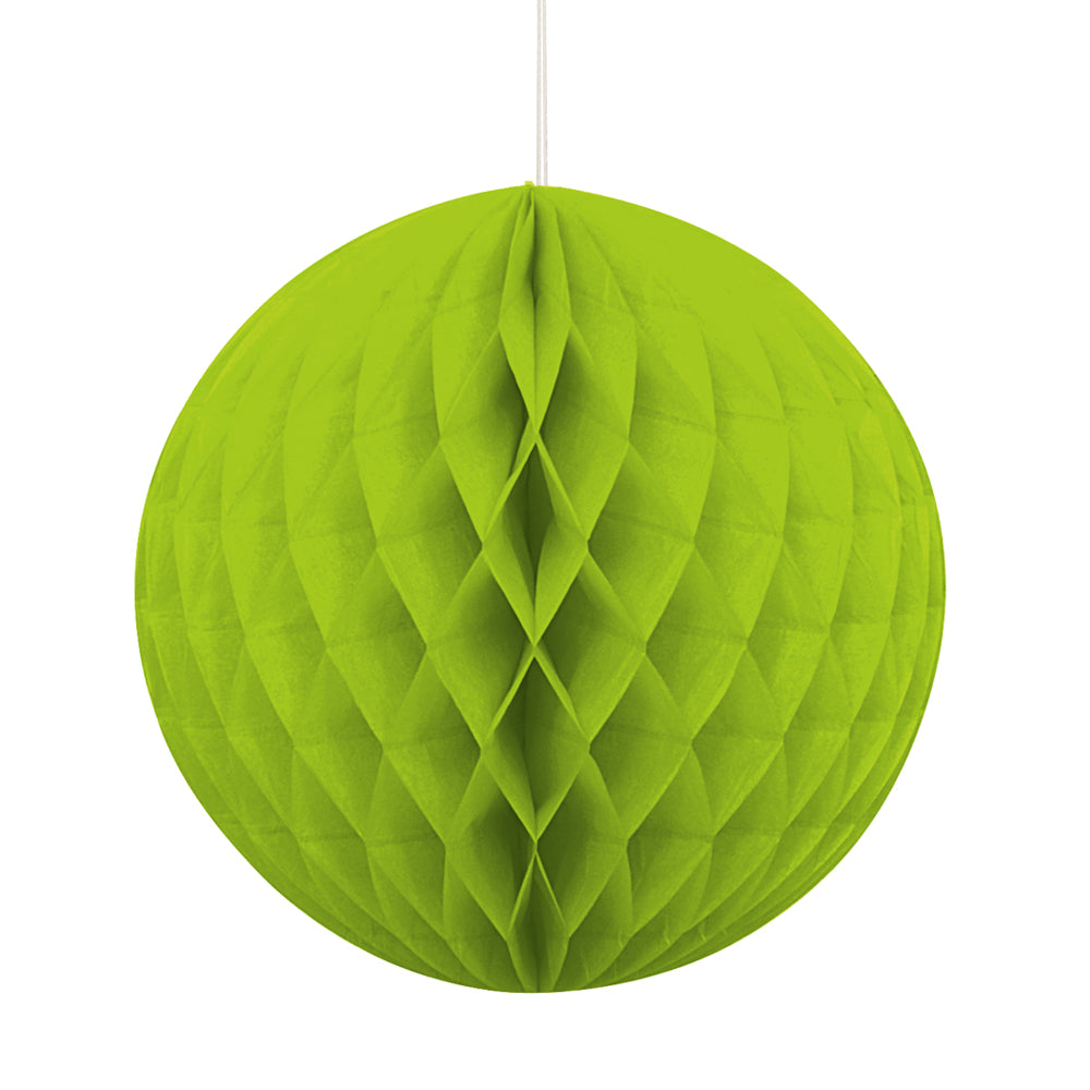 Lime Green Tissue Ball - 20cm