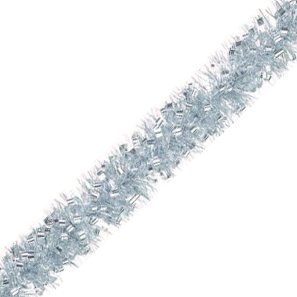Silver Loop Tinsel - 2m