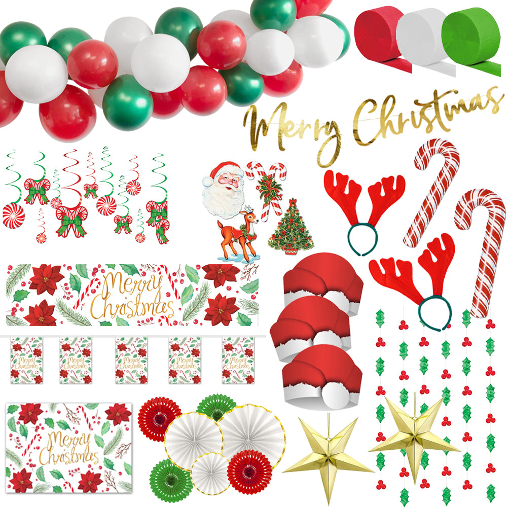 Christmas Party Medium Size Decoration and Novelty Pack