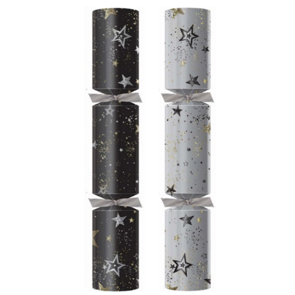 "Midnight Sparkle Ice Christmas Crackers - 12"" - Each"