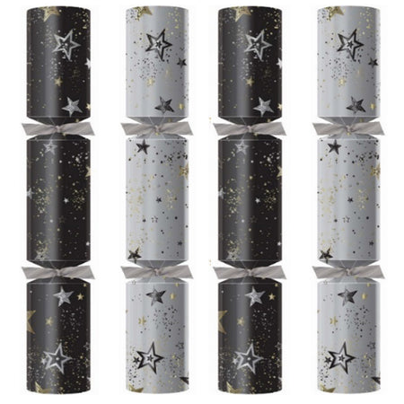 Midnight Sparkle Ice Christmas Crackers - Box of 100