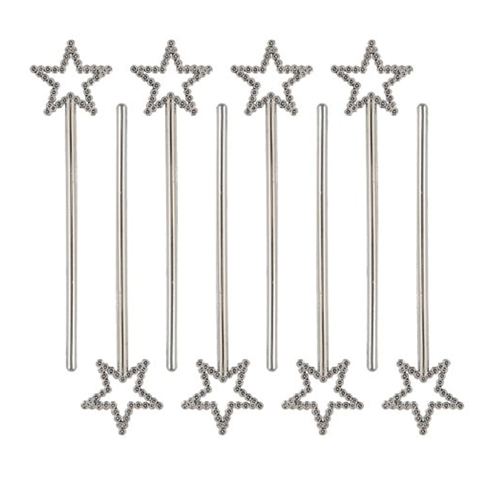 Silver Star Fairy Princess Wands