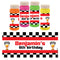 Personalised Bubbles - Motor Racing- Pack of 6