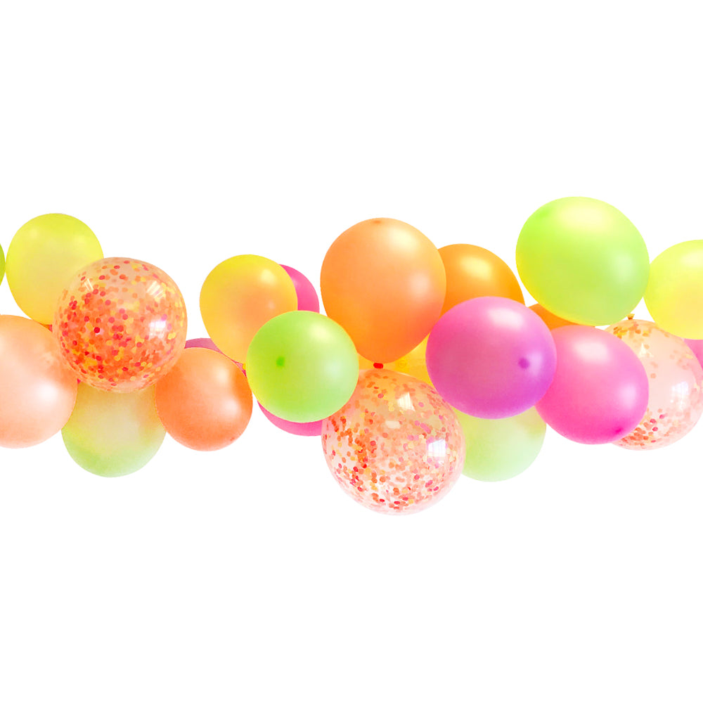 Neon Balloon Arch DIY Kit - 2.5m