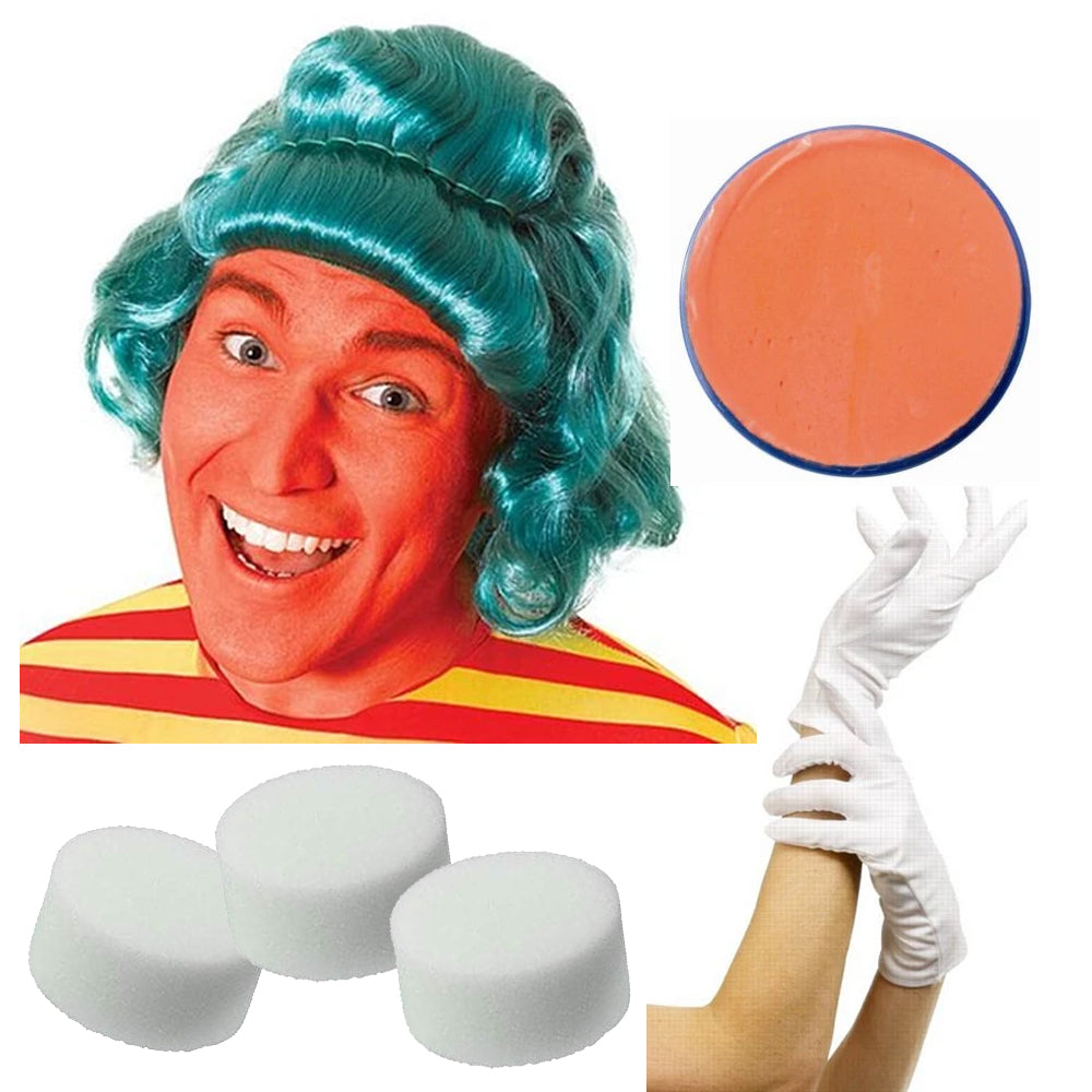 Oompa Loompa Fancy Dress Kit