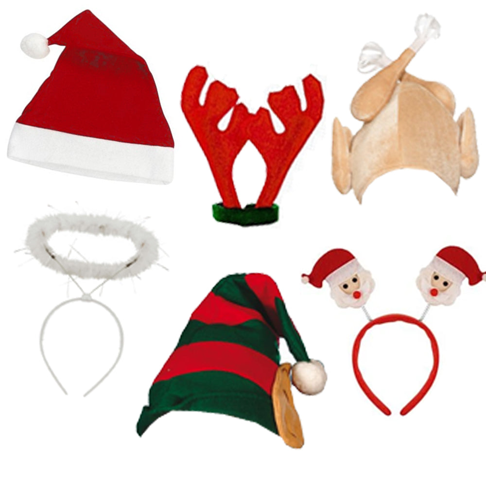 Christmas Hat Pack For 6 People