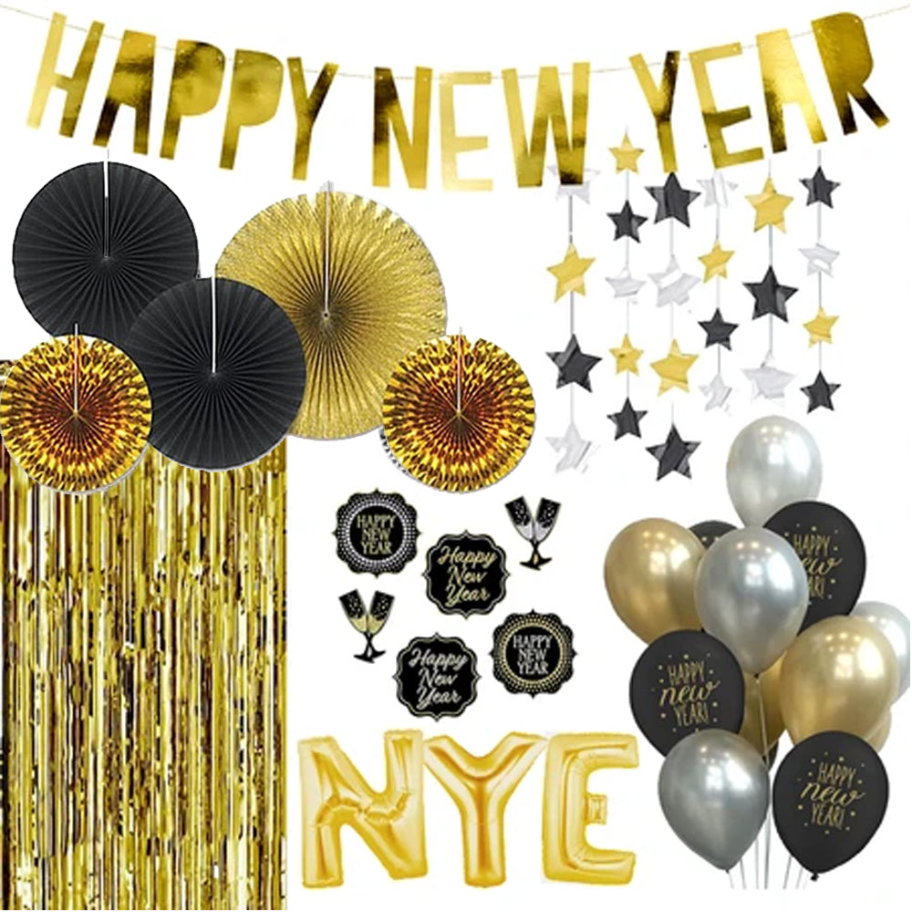 Happy New Year Decoration Pack