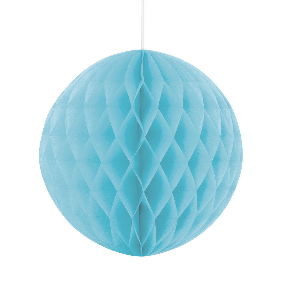 Pastel Blue Tissue Ball - 20cm