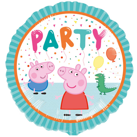 Peppa Pig Party Foil Balloon - 18