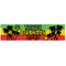 Reggae Themed Personalised Banner Decoration - 1.2m
