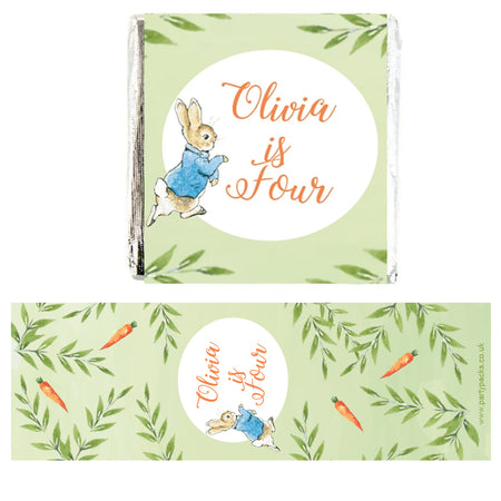 Personalised Chocolates - Peter Rabbit - Pack of 16
