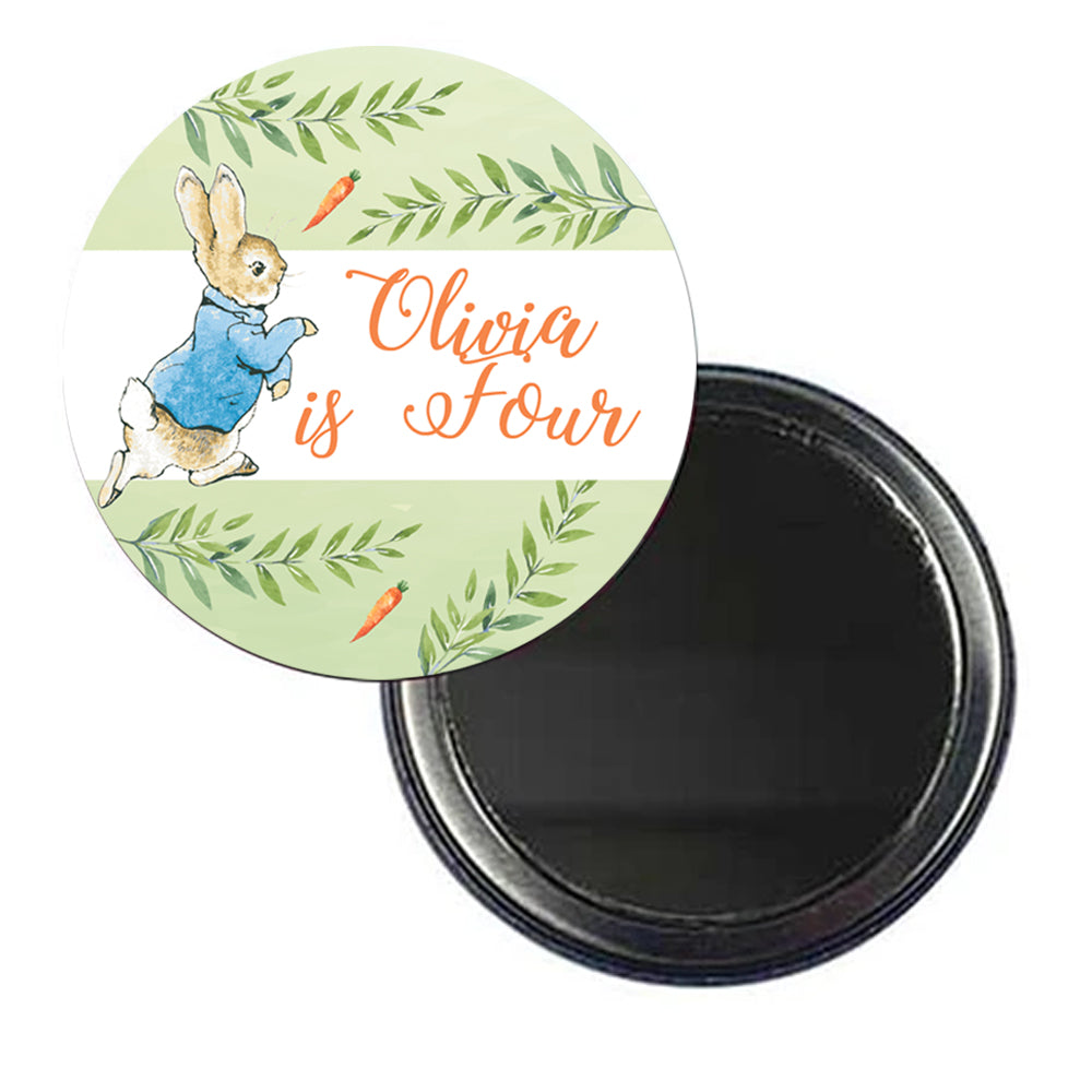 Peter Rabbit Personalised Pocket Mirror - 58mm - Each
