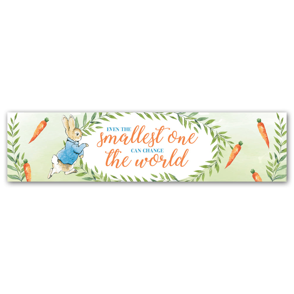 Peter Rabbit Banner Decoration - 1.2m