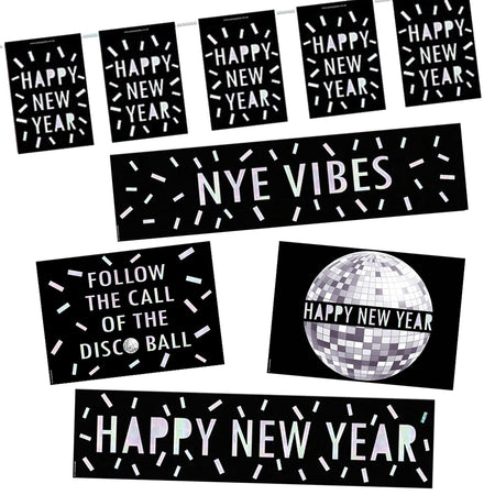 New Year Disco Decoration Pack