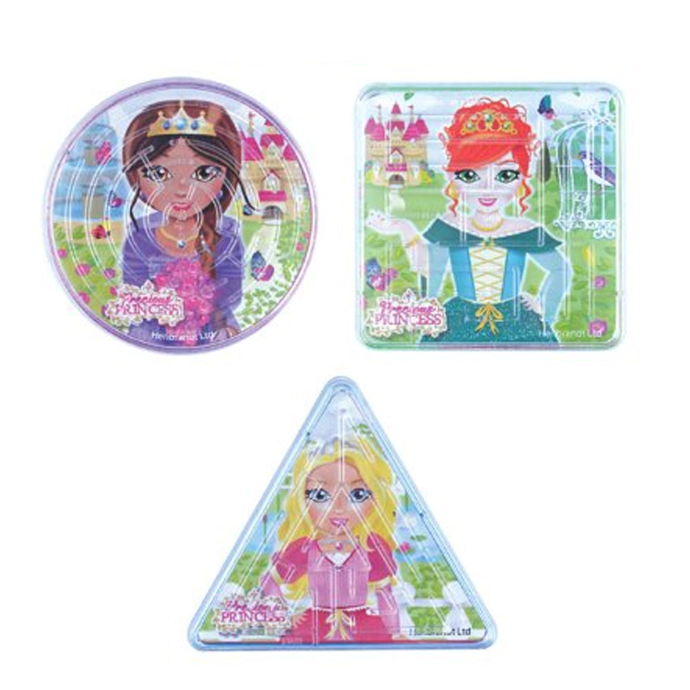 Mini Princess Puzzle Maze - Assorted - Each
