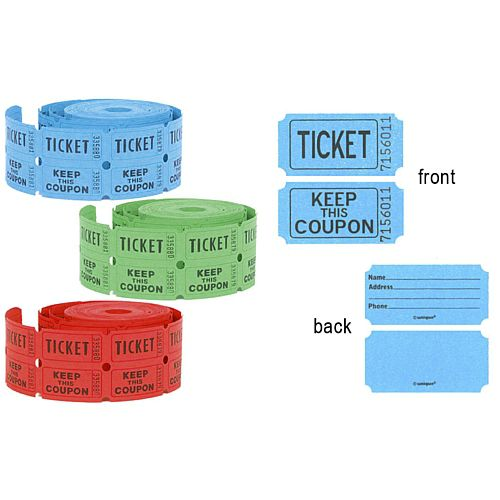 Keep This Coupon Ticket Roll - Per Roll
