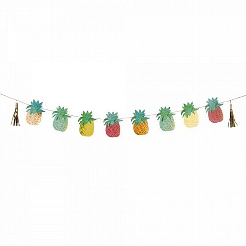 Tropical Fiesta Pineapple Garland - 3m