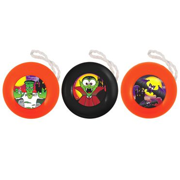 Halloween Themed Yo-Yo - Assorted - 3.8cm