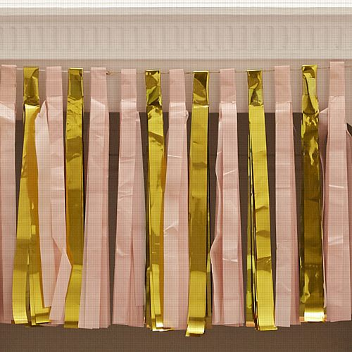Pastel Perfection Metallics Tassel Garland - 2.5m