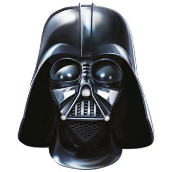 Darth Vader Star Wars Card Mask