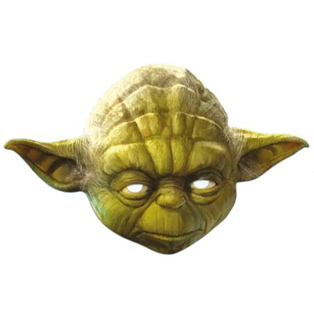Yoda Star Wars Card Mask