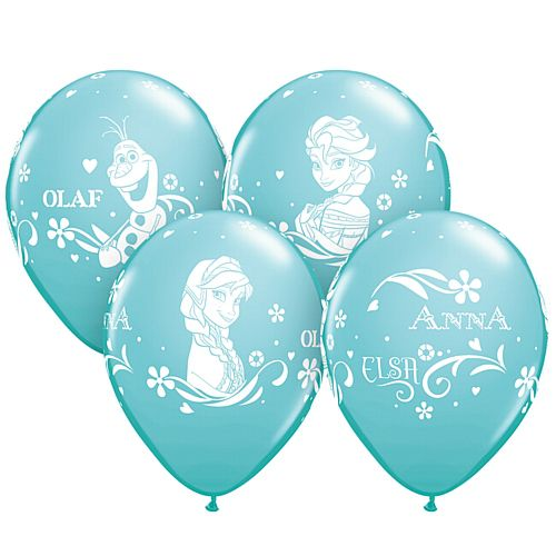 "Frozen Printed Latex Balloons - 11"" - Pack of 8"